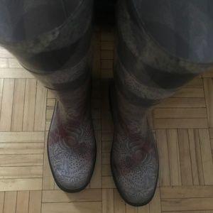 Burberry Shoes - Burberry Rain Boots - Size 9